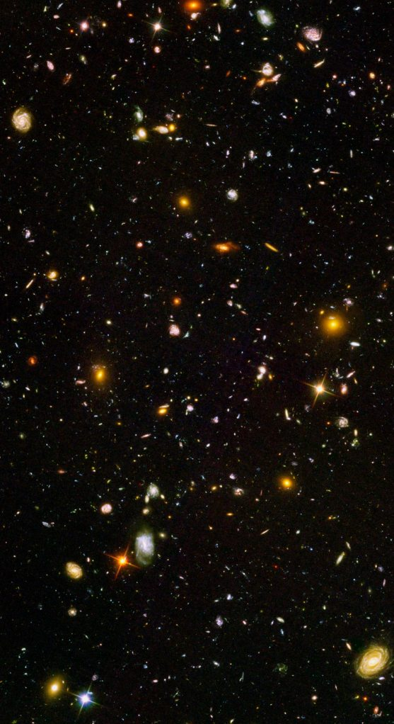 This is what happens when Hubble looks at a pinprick of the sky for two weeks